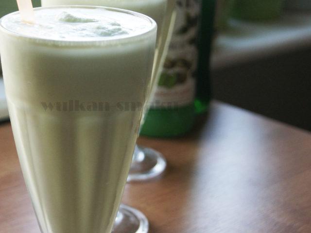 Pistacjowo- miętowy shake