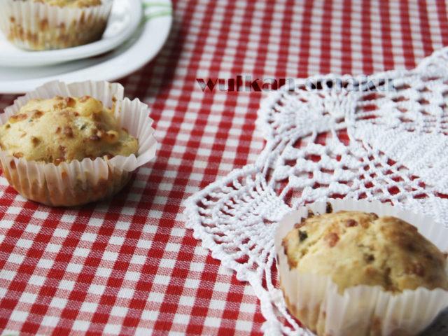Na drugie śniadanie- Serowe muffinki z brokułem