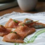 Na kolacje – wykwintnie i lekko – ravioli z łososia z twarożkiem