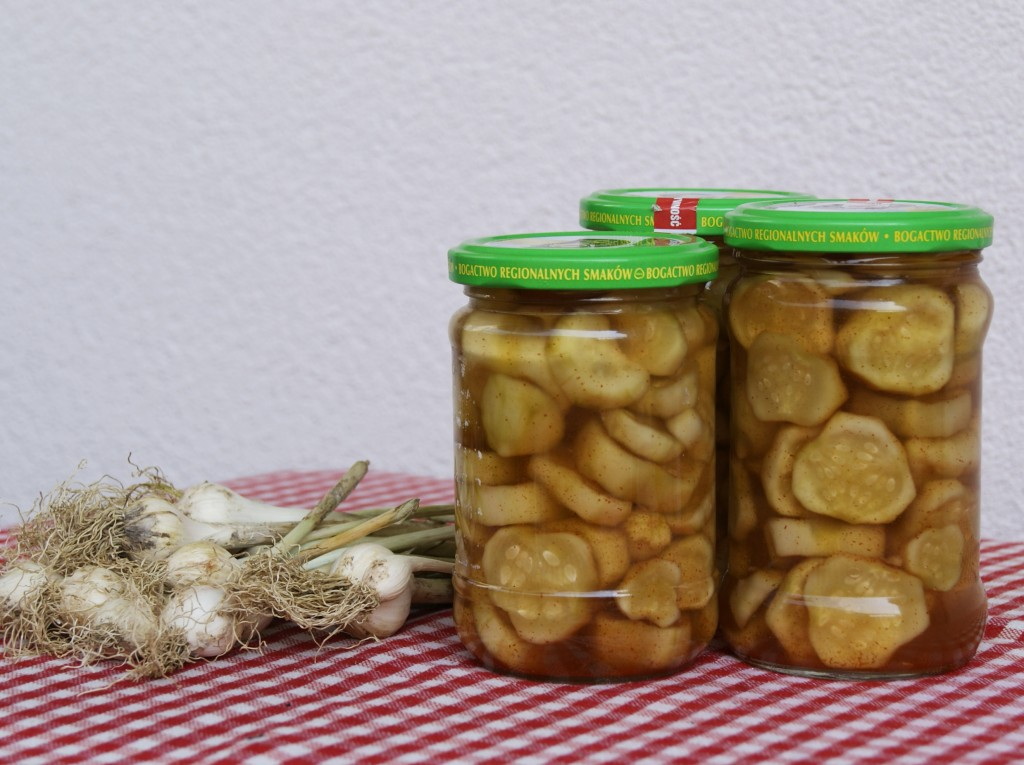 ogórki z chilli