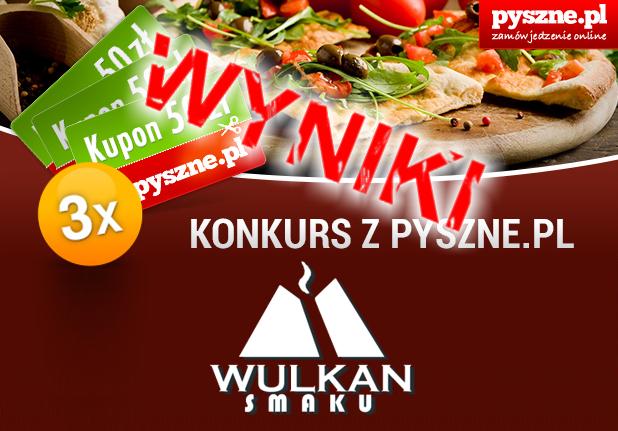 Konkurs z pyszne.pl – Wyniki
