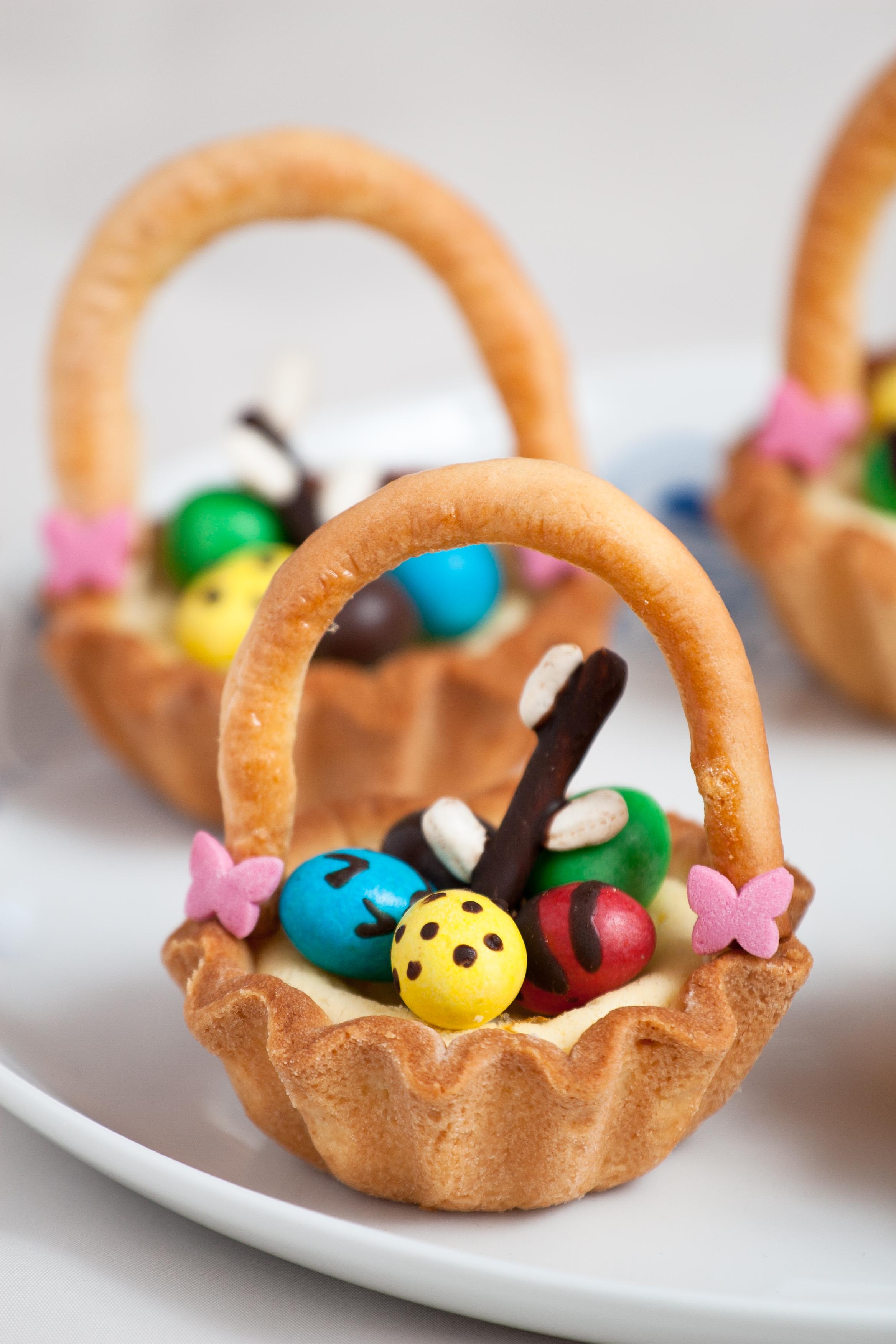 Wielkanocne koszyczki - E. Bracka