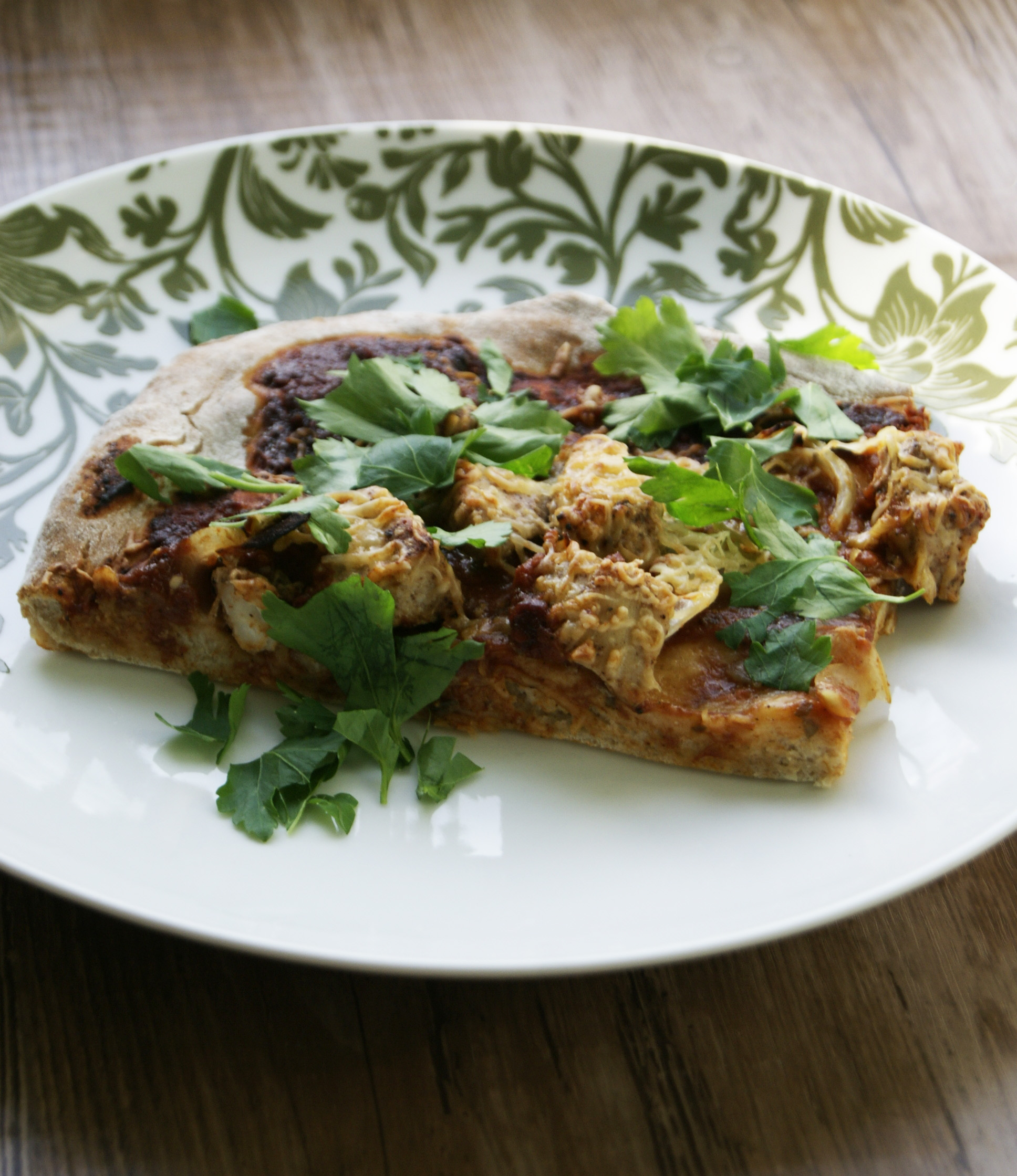 pizza z kurczakiem tikki masala