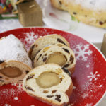 Mini stollen – mini strucle z marcepanem