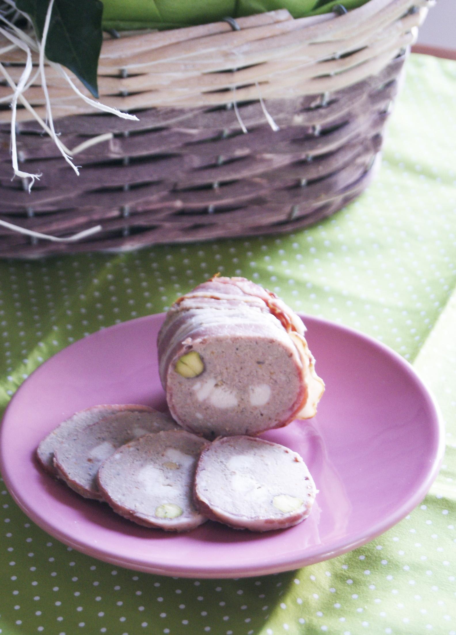 pasztet z kaczki z pistacjami