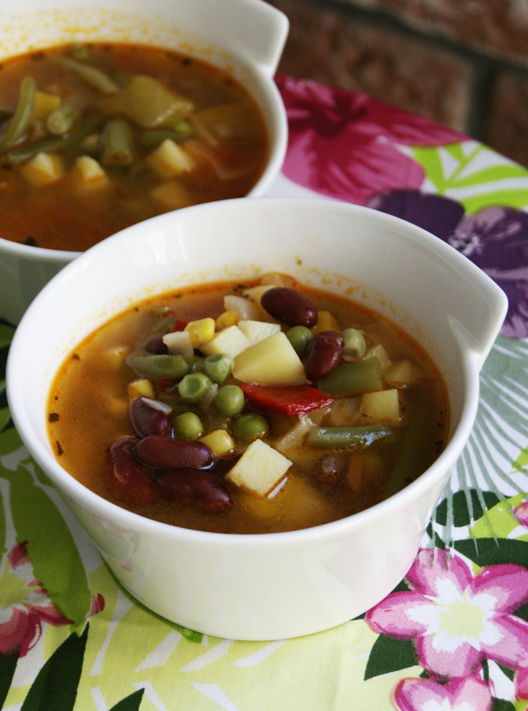 zupa w meksykanskim stylu