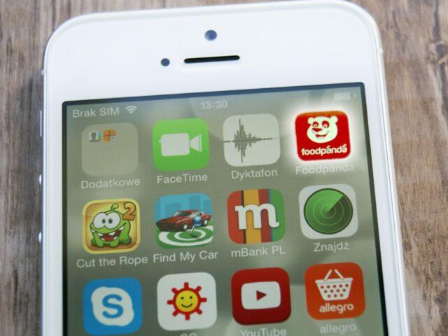 Aplikacja mobilna Foodpanda
