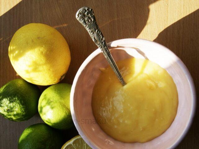 Lemon curd – krem cytrynowy
