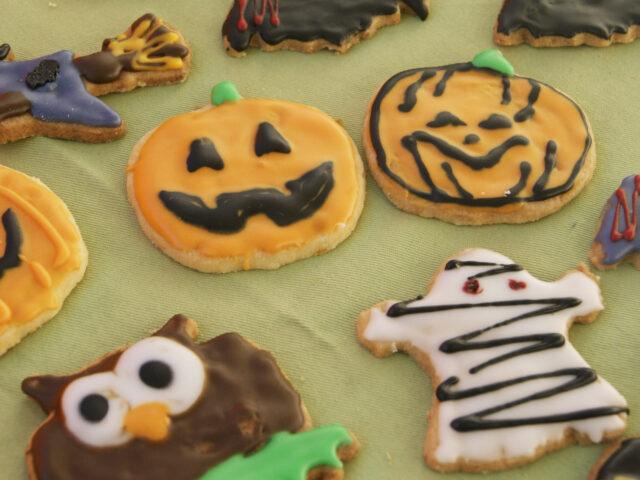Ciasteczka na Hallowen