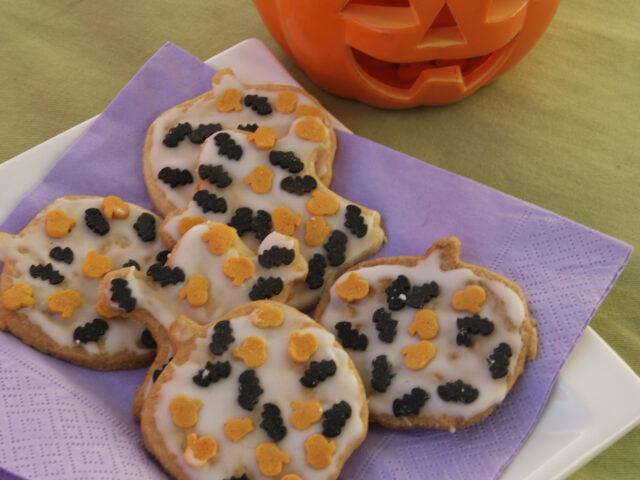 Hallowenowe ciasteczka