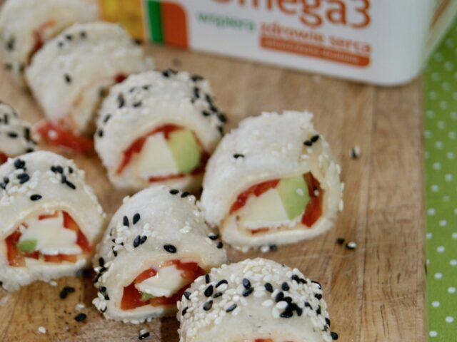 Piknikowe roladki chlebowe ala sushi
