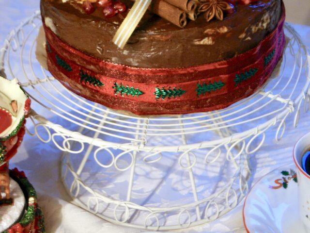Świąteczne ciasto z wiśniami