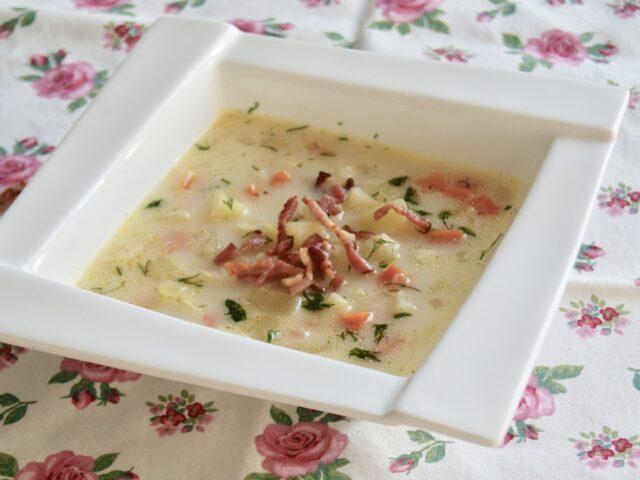 Zupa ziemniaczana z boczkiem