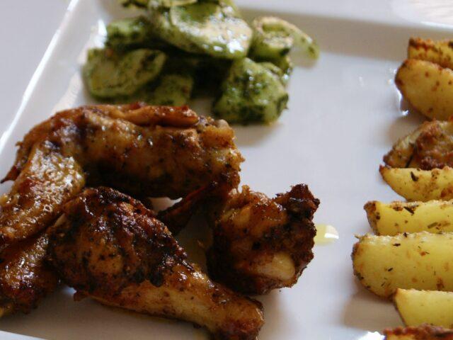 Miodowo-sojowe skrzydełka kurczaka