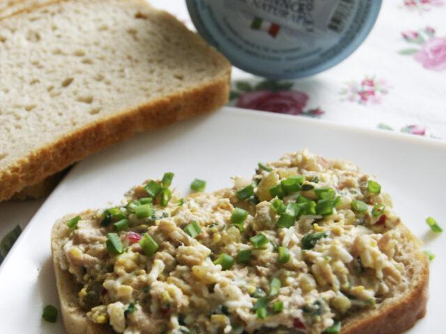 Pasta kanapkowa z tuńczykiem